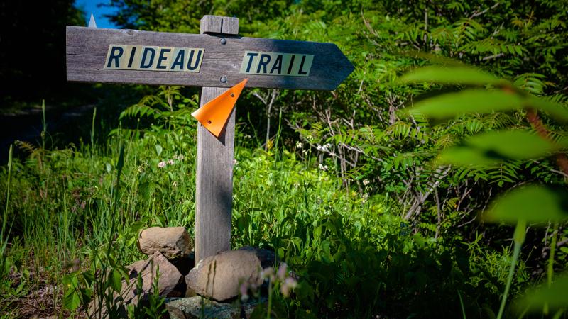 Cataraqui Trail Turnoff