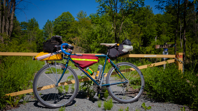 Cycling on the Cataraqui Trail