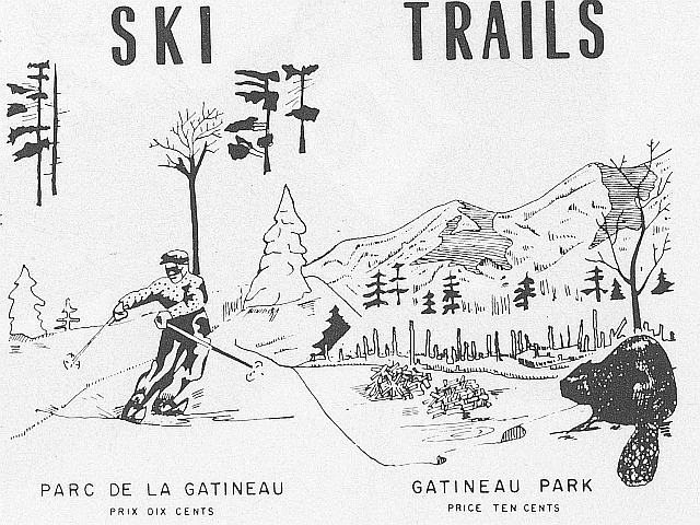 Trail Names in Gatineau Park
